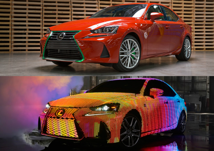 2017 Lexus IS Emerging Media Campaigns